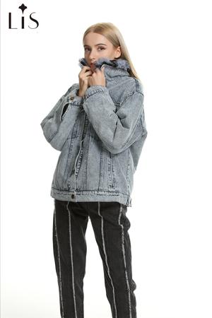 angolan wool denim jacket