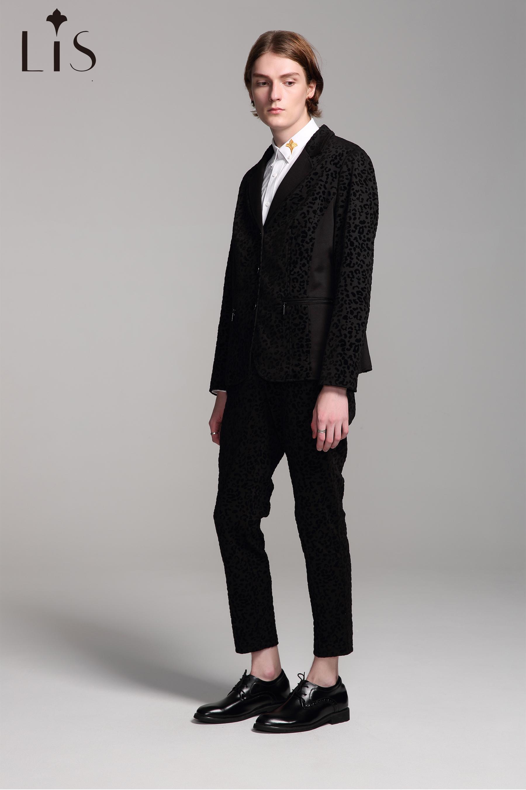 Leopard Suit Jacket M